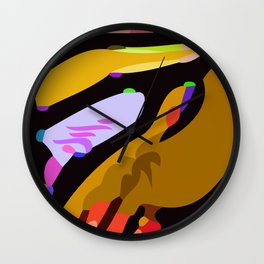 Kolage ~ Egyptian Gold ~ 5 Wall Clock
