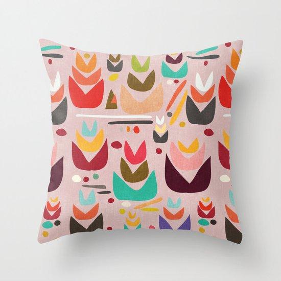 Proud Garden Throw Pillow