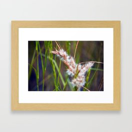 Wild Vegetation Framed Art Print