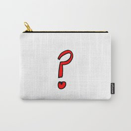 question mark Carry-All Pouch
