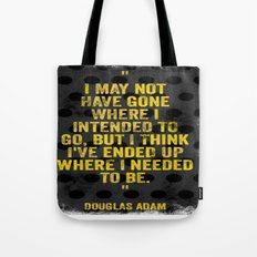 Intentions  Tote Bag