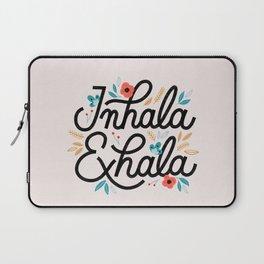 Inhala Exhala Laptop Sleeve