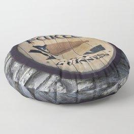 Wooden Guinness Sign Floor Pillow