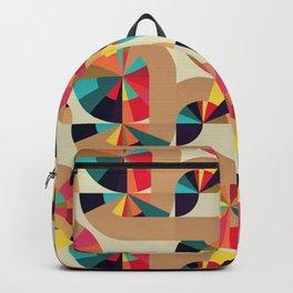 Kaleidoscope Pattern Backpack