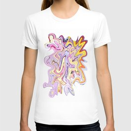 Dreams of Spring Pink Marble T-shirt
