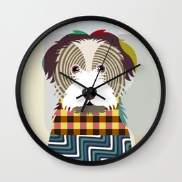 Havanese Wall Clock