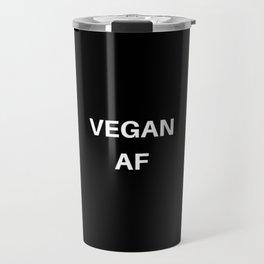 Vegan AF Travel Mug
