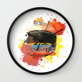 Fernando Alonso #14 - 2017 Wall Clock