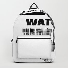 Barcode Hidden letters Backpack