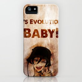 Do the Evolution, Baby! iPhone Case