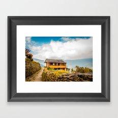 Village House Framed Art Print