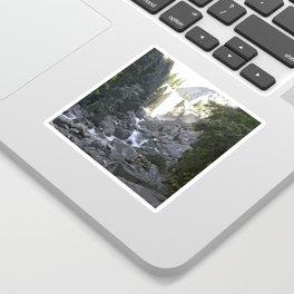 Yosemite Waterfall Sticker