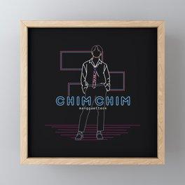 chim chim Framed Mini Art Print