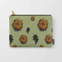 Flores y Hojas Carry-All Pouch