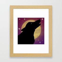 Lunar Lullaby Framed Art Print