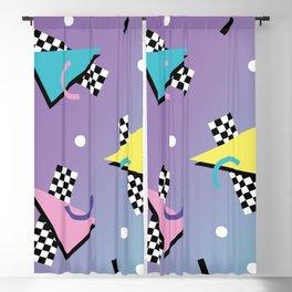 Memphis pattern 59 - 80s / 90s Retro Blackout Curtain