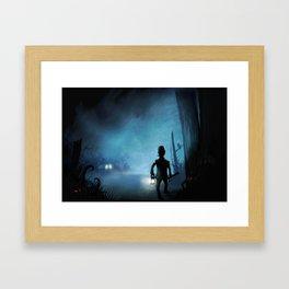 Item Nine Framed Art Print