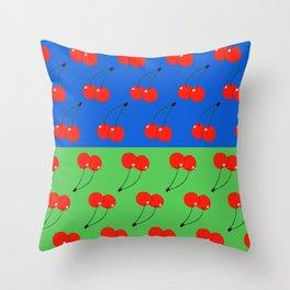 Cherries Throw Pillow