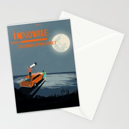 Innovate With A Learning Mindset Stationery Cards