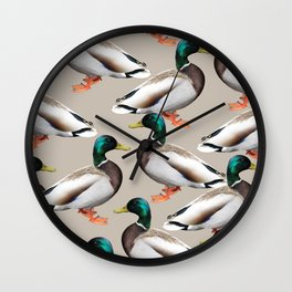 Mallards #society6 #decor #buyart Wall Clock