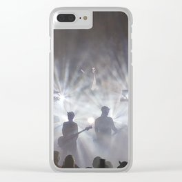Ghost Lights Clear iPhone Case