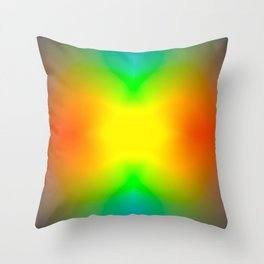 The Splitting Universe. Throw Pillow
