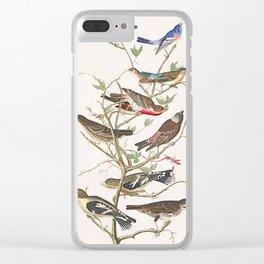 Bird Tree Clear iPhone Case