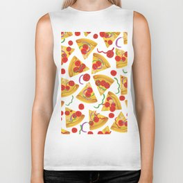 Pizza Slices Biker Tank