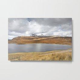 Moorland Loch Metal Print
