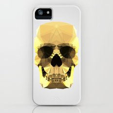 Polygon Heroes - Gold Skull iPhone (5, 5s) Slim Case