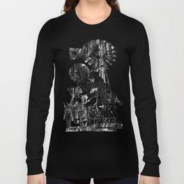 Post-Modern Industrial Complex:  The Art of Regressing Long Sleeve T-shirt