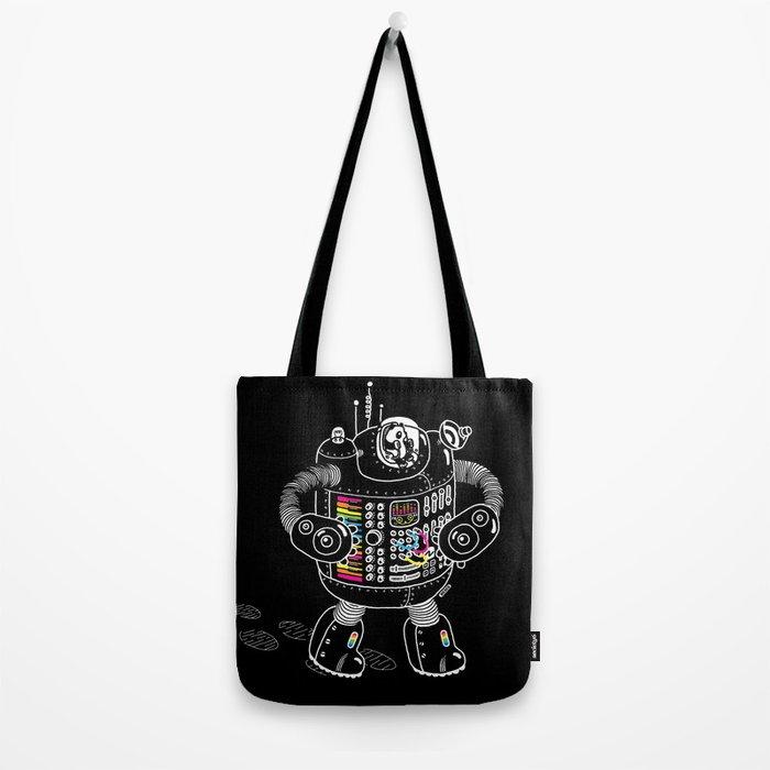 Panda Music Jaeger Tote Bag