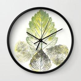 Leaves (autumn) Wall Clock