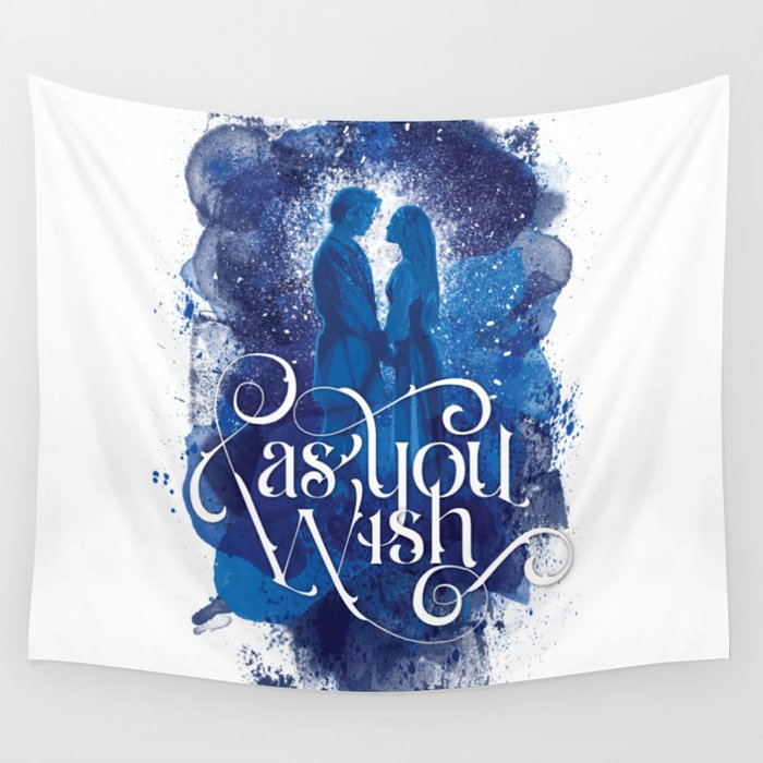 As You Wish Wall Tapestry