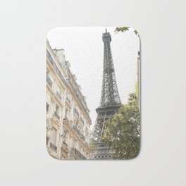 Eiffel tower architecture Bath Mat