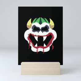 Joke's On You Bowser Mini Art Print