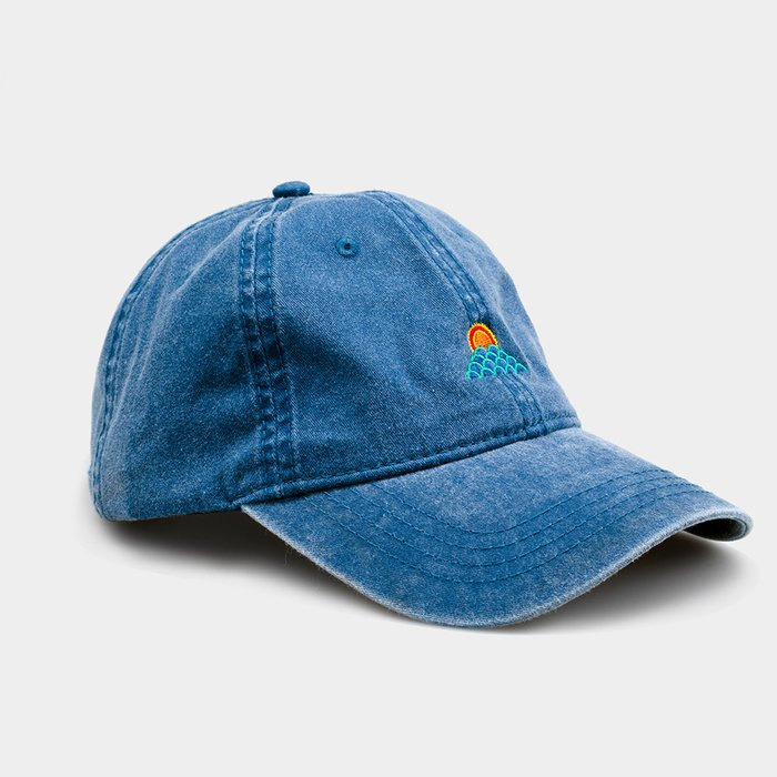 Dad Hat: Sunset Waves | By Ted Feighan Editions