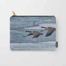 Canada Geese Flying X Carry-All Pouch
