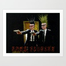PUNK FICTION V3 - 022 Art Print