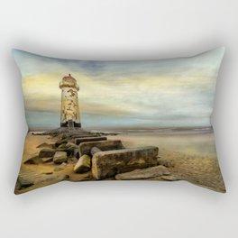 Lighthouse Sunset Rectangular Pillow