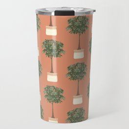 Guinea chestnut in a basket planter Travel Mug