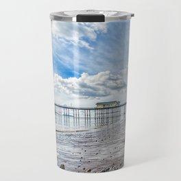 Penarth Pier Morning Light 2 Travel Mug