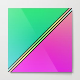 Color Swaths  Metal Print