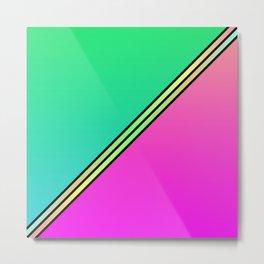 Color Swaths  Metal Print