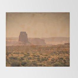 Desert Warmth Throw Blanket