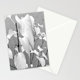 Light leaves Stationery Cards