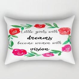 Women With Vision - Girl Boss Rectangular Pillow