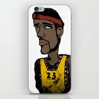 basketball iPhone & iPod Skins featuring Basketball  by JBLITTLEMONSTERS