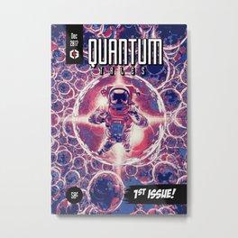 Quantum Tales 1st Issue Metal Print
