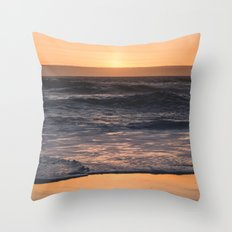 Sunset Kiss Throw Pillow